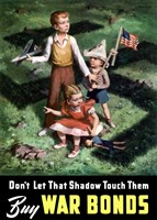 Don't Let that Shadow Touch Them Fine Art Print