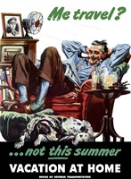 Met Travel - Not This Summer by John Parrot - various sizes, FulcrumGallery.com brand