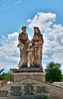 Beautiful Tomas Acea Cemetery in city with statues, Cienfuegos, Cuba by Bill Bachmann - various sizes