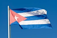National Cuban Flag, Cuba by Michael DeFreitas - various sizes