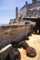 Thick Stone Walls, El Morro Fortress, La Havana, Cuba by Greg Johnston - various sizes - $43.49