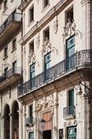 Cuba Havana, Plaza de San Francisco de Asis, Hotel Fine Art Print