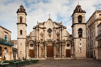 Cuba, Havana, Catedral de San Cristobal by Walter Bibikow - various sizes