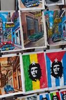 Cuba, Havana, Craft market souvenirs by Walter Bibikow - various sizes
