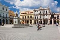 Cuba, Havana, Havana Vieja, Plaza Vieja by Walter Bibikow - various sizes - $44.99