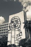 Cuba, Havana, Interior Ministry, Che Guevara by Walter Bibikow - various sizes - $44.99