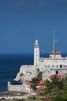 Cuba, Havana, Morro Castle, Fortification Fine Art Print