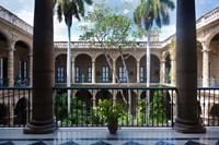 Cuba, Havana, Museo de la Ciudad museum, courtyard by Walter Bibikow - various sizes - $44.99