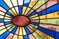 Cuba, Havana, Palacio de la Artesania, glass by Walter Bibikow - various sizes - $44.99