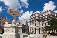 Cuba, Havana, Plaza de San Francisco de Asis by Walter Bibikow - various sizes