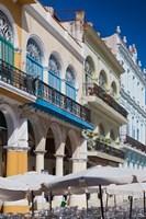 Cuba, Havana, Plaza Vieja, renovated buildings by Walter Bibikow - various sizes - $44.99