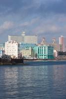 Cuba, Havana, Vedado, Buildings along the Malecon by Walter Bibikow - various sizes - $44.99