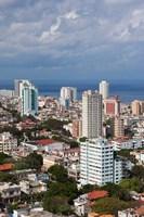 Cuba, Havana, Vedado, View of the Vedado area by Walter Bibikow - various sizes - $44.99