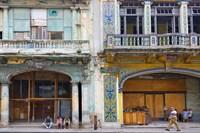 Old building in the historic center, Havana, Cuba by Keren Su - various sizes
