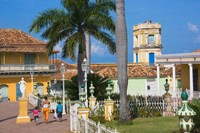 Plaza Mayor, Trinidad, UNESCO World Heritage site, Cuba by Keren Su - various sizes - $45.99