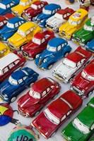 Cuba, Sancti Spiritus, Trinidad, paper-mache cars by Walter Bibikow - various sizes