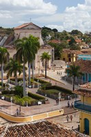 Cuba, Sancti Spiritus, Trinidad, Plaza Mayor by Walter Bibikow - various sizes - $36.49