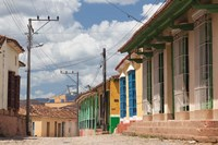 Cuba, Sancti Spiritus, Trinidad, street view by Walter Bibikow - various sizes - $36.49