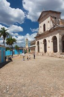 Cuba, Trinidad, Holy Trinity Church by Walter Bibikow - various sizes - $36.49