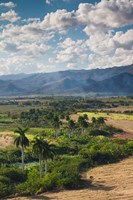 Cuba, Trinidad, Valle de los Ingenios, Valley by Walter Bibikow - various sizes - $36.49
