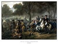 Battle of the Monongahela Fine Art Print