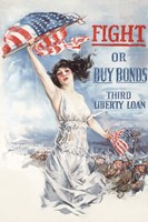 Fight or Buy Bonds by John Parrot - various sizes, FulcrumGallery.com brand
