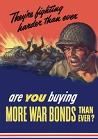 Are You Buying More War Bonds Than Ever? by John Parrot - various sizes, FulcrumGallery.com brand