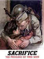 Sacrifice - The Privilege of Free Men by John Parrot - various sizes - $47.99