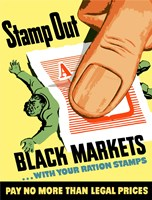 Stamp Out Black Markets Fine Art Print
