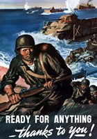 Ready for Anything - Thanks to You by John Parrot - various sizes