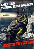 America's Fishing Fleet and Men by John Parrot - various sizes - $47.99