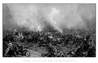Battle of Gettysburg (digitally restored, black & white) by John Parrot - various sizes