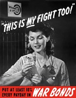 This is My Fight Too by John Parrot - various sizes