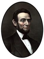 Vintage Civil War Era Artwork of President Abraham Lincoln Fine Art Print