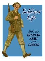 Soldiers' Life Fine Art Print