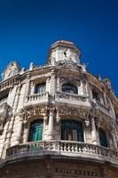 Cuba, Havana, Havana Vieja, Hotel Raquel, exterior by Walter Bibikow - various sizes