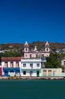 Cuba, Matanzas, Waterfront, Bahia de Matanzas Bay (vertical) by Walter Bibikow - various sizes