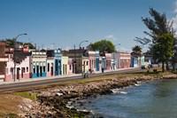 Cuba, Matanzas, Waterfront, Bahia de Matanzas Bay (horizontal) by Walter Bibikow - various sizes