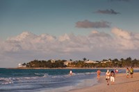 Cuba, Varadero, Varadero Beach, sunset by Walter Bibikow - various sizes - $36.49