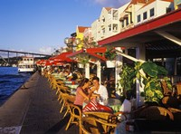 Willemstad Waterfront, Curacao, Caribbean by Greg Johnston - various sizes