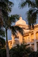 Rooftop terrace hotel, Riu Palace, Bavaro, Higuey, Punta Cana, Dominican Republic Fine Art Print