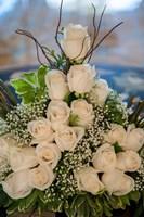 Wedding floral centerpiece, Bavaro, Higuey, Punta Cana, Dominican Republic Fine Art Print