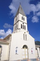 St Henri Cathedral, Anse D'Arlet, Martinique, French West Indies, Caribbean by Bill Bachmann - various sizes, FulcrumGallery.com brand