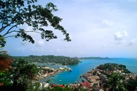 View from Mountain of St Georges, Grenada, Caribbean by Bill Bachmann - various sizes