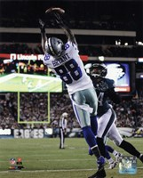 Dez Bryant 2014 catching the ball Framed Print