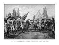 Surrender of British Troops - Revolutionary War by John Parrot - various sizes - $46.99
