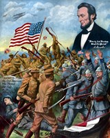 African American troops inBbattle During World War I by John Parrot - various sizes - $46.99
