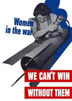 Women in the War Fine Art Print
