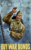 American Soldier Waving by John Parrot - various sizes