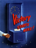 Victory Starts Here by John Parrot - various sizes